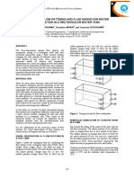 1999 - A Study on Flow Patterns and Fluid Mixing for Water Purification in a Rectangular Water Tank