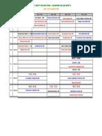 Date Sheet Mid-I_ Fall' 10 _EE Deptt