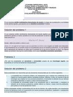 Evaluación de Razonamiento 4 - UPC - Economia Empresarial