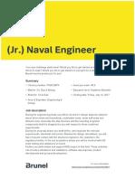 Jr Naval Engineer