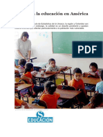 Cómo Va La Educación en América Latina