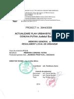 Putna Si Regulament Local de Urbanism
