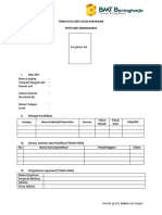 Form Data Diri Calon Karyawan