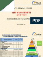 Presentation HSE Management Site Visit