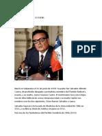 Salvador Allende Gossens Biografia