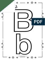 KIT Alfabeto Para Niños - Letra B