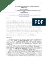O Custo Da Dívida e a Remuneração de Executivos Nas Empresas Da BMFBovespa IDENTIFICADO