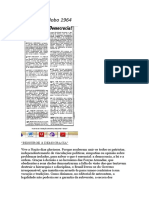 Editorial O Globo 1964