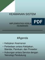 07 Implementasi Kebijakan Keamanan