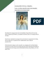 Consagración Total a La Virgen