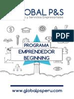 Programa Empreder Beginning
