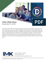 Irfan Ullah Khan - DISC Personality Assessment