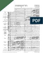B. Martinu - Sinfonie Nr.1 - I Moderato