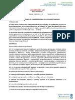 DEBER ETICA 1- OLEGIADOS Y CÓDIGOS DE ÉTICA PROFESIONAL EN EL ECUADOR Y GREMIOS.docx