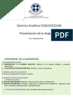 ICQ410 ICQ148 Presentación Del Curso