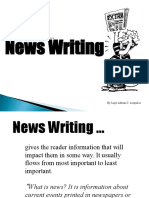 News Writing Ppt
