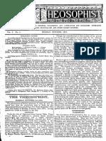 Jornal Theosophist N° 01