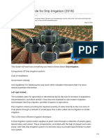 Agricultureguruji.com-The Ultimate Guide for Drip Irrigation 2018