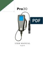 606082a Ysi Pro30 Manual Chloride Meter