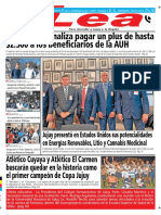 Periódico Lea Viernes 16 de Noviembre Del 2018