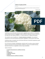 Agricultureguruji.com-Cauliflower Cultivation Guide 2018