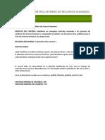 Control 1 Instruccciones - Auditoria.