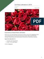 Agricultureguruji.com-Economics of Dutch Rose Cultivation in 2018