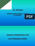 Generalidades Sobre El Estado Colombiano