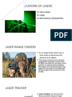Military Applications of Lasers