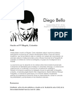 Curriculum Diego Bello