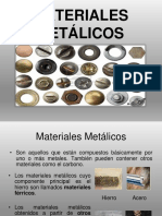 3. MATERIALES METÁLICOS