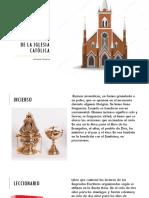 Objetos Sagrados de La Iglesia Católica