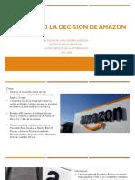 Analizando La Decision de Amazon