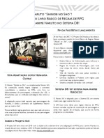 Press Release Naruto SnS Panfleto