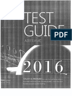 Test Guide Airframe