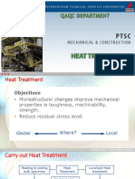CSWIP 3.1. HEAT TREATMENT