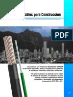Conductores Para Instalaciones Industriales y Civiles