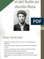 El Papel Del Stalin en La Revolución Rusa