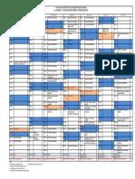 Academic Calendar Spring 2019 Nitd