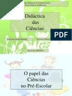DC- o Papel Das Ciencias