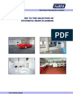FERFA Guide for Selection of Systhetic Resin Flooring