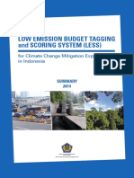 Low Emission Budget Tagging and Scoring System(LESS)_Summary ENG Final