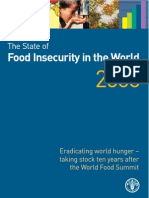 State of Food In Security in World 2006-FAO