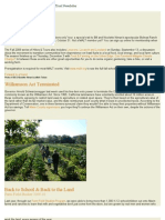 August 2009 Marin Agricultural Land Trust Newsletter