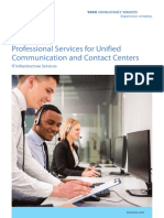 Unified Contact & Communication Solution using Integrated CRM by TCS
