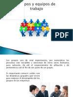 DIRECCIÓN (Grupos de Trabajo y Equipos)