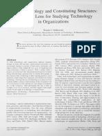 Orlikowski 2000 Organization Science (1)