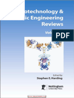 Biotechnology and Genetic Engineering Reviews