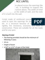 Rcc Lintel & Retaining Walls