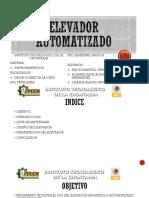 ELEVADOR AUTOMATIZADO